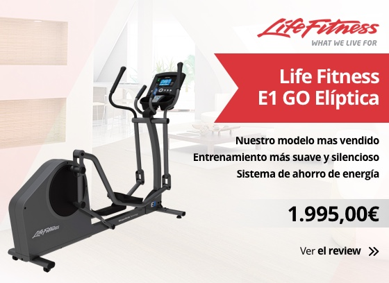 Bicicleta eliptica Life Fitness E1 GO