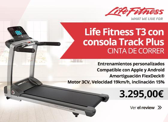 Life Fitness T3 con Consola Track plus