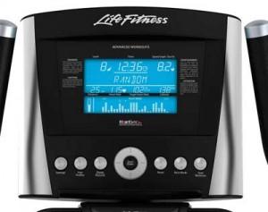 Consola de Bicicleta elíptica Life Fitness X5 Advanced